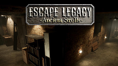 Ladda ner Escape legacy: Ancient scrolls VR 3D: Android First-person adventure spel till mobilen och surfplatta.