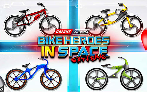 Ladda ner High speed extreme bike race game: Space heroes på Android 4.2 gratis.