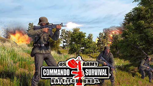 Ladda ner WW2 US army commando survival battlegrounds: Android Shooter spel till mobilen och surfplatta.