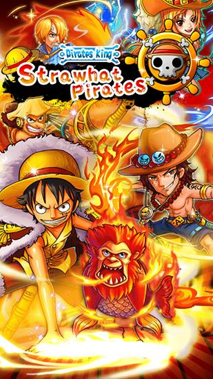 Ladda ner Strawhat pirates: Pirates king. Romance dawn på Android 4.1.1 gratis.