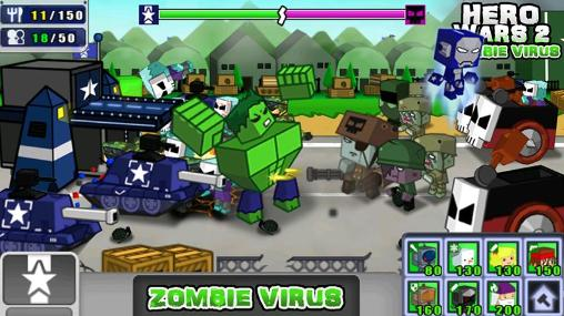 Hero wars 2: Zombie virus