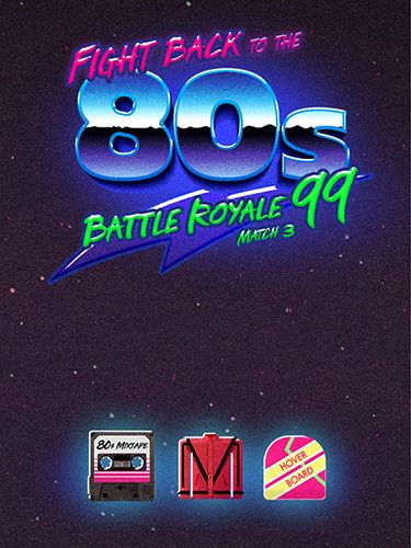 Ladda ner Arkadspel spel Fight back to the 80's: Match 3 battle royale på iPad.