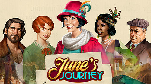 Ladda ner Äventyrsspel spel June's journey: Hidden object på iPad.