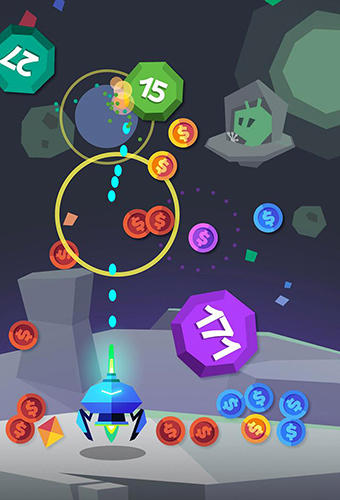 Color ball blast