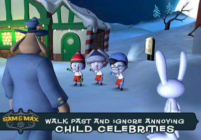 Sam & Max Beyond Time and Space. Episode 1.  Ice Station Santa