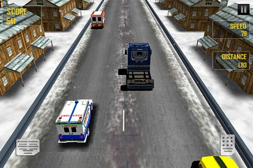 Ambulance: Traffic rush