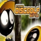 Med den aktuella spel Castle storm: Free to siege för iPhone, iPad eller iPod ladda ner gratis Stickman disc golf battle.