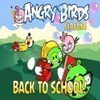 Med den aktuella spel Frontline Commando för iPhone, iPad eller iPod ladda ner gratis Angry Birds goes back to School.