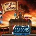 Med den aktuella spel Zen Lounge: Meditation Sounds  för iPhone, iPad eller iPod ladda ner gratis Tiny Ball vs. Evil Devil - Christmas Edition.