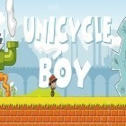 Med den aktuella spel Dizzy - Prince of the Yolkfolk för iPhone, iPad eller iPod ladda ner gratis Unicycle boy.