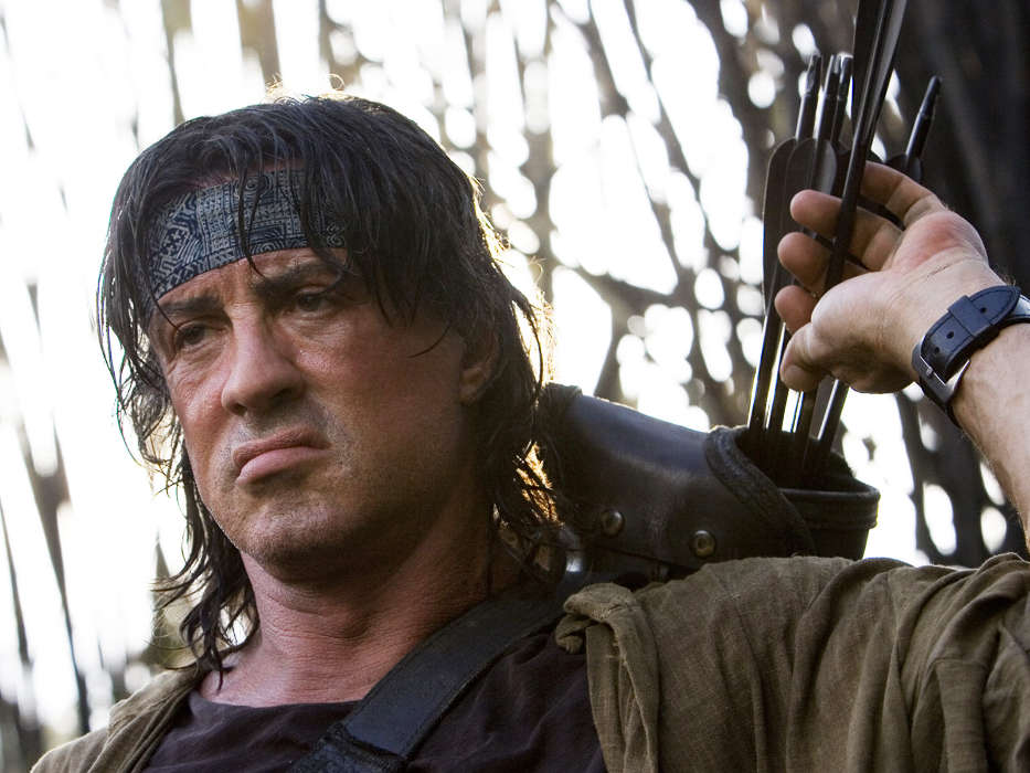Cinema, Humans, Actors, Men, Sylvester Stallone, Rambo