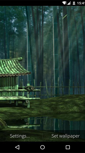Bamboo house 3D