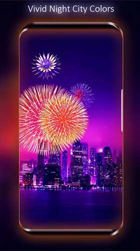 Fireworks by Live Wallpapers HD