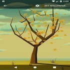 Ladda ner Tree with falling leaves på Android gratis.